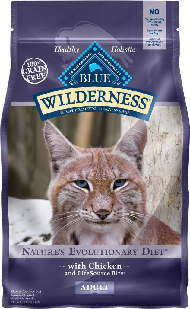blue wilderness food for bengal cat