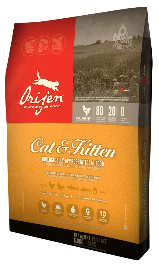 orijen cat and kitten food for bengal cat